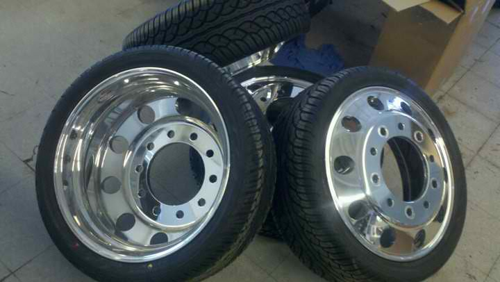 Alcoa Dually Wheels Dodge